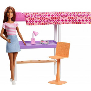 Barbie Δωμάτιο Με Γραφείο (FXG52)