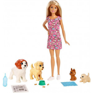 Η Barbie & Τα Σκυλάκια Της Με Λαμπάδα (FXH08)