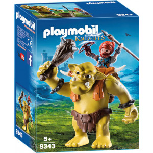 Playmobil Γιγαντιαίο Τρολ με Νάνο πολεμιστή 9343 #787.342.062, narlis.gr