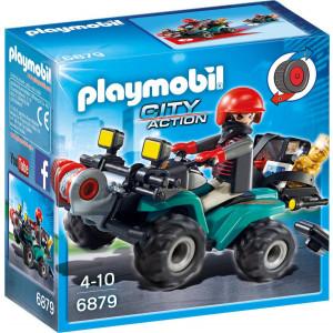 Playmobil Ληστής με Γουρούνα και Κλοπιμαία 6879 #787.342.141, narlis.gr