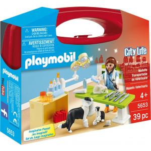 Playmobil Βαλιτσάκι Κτηνιατρείο 5653 narlis.gr