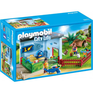 Playmobil Ξενώνας Για Κουνελάκια Και Χάμστερ 9277, narlis.gr