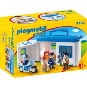 Playmobil Αστυνομικό Τμήμα Βαλιτσάκι (9382)