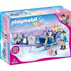 Playmobil Έλκυθρο Με Βασιλικό Ζευγάρι 9474 A