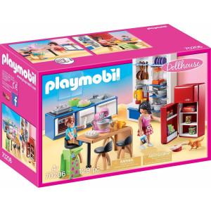Playmobil Dollhouse, Κουζίνα Κουκλόσπιτου 70206, narlis.gr