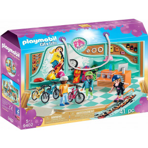 Playmobil, Κατάστημα, Ποδηλατο, Skate, 9402, παιδικό παιχνίδι, narlis.gr