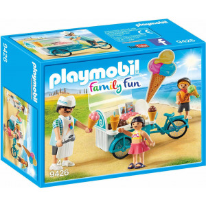 Playmobil Παγωτατζής Με Ποδήλατο Ψυγείο #787.342.036, narlis.gr