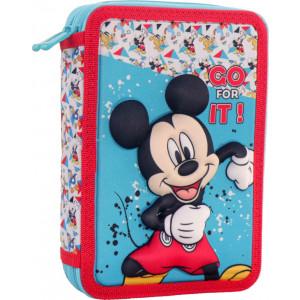 Κασετίνα Διπλή Γεμάτη Mickey (562543)