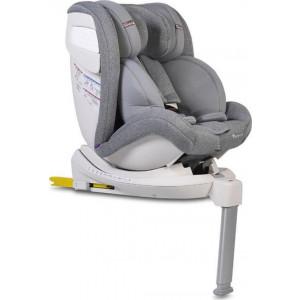 Cangaroo, Κάθισμα αυτοκινήτου Isofix 0-36kg Admiral Grey,3800146239985, narlis.gr