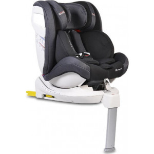 Cangaroo Κάθισμα αυτοκινήτου Isofix 0-36kg Admiral Black,3800146239978, narlis.gr