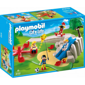 Playmobil City Life Παιδική Χαρά Super Set 4132 #787.342.322, narlis.gr