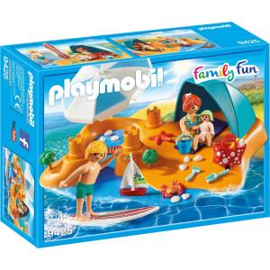 Playmobil Οικογενειακή Διασκέδαση στην Παραλία 9425 #787.342.035, narlis.gr