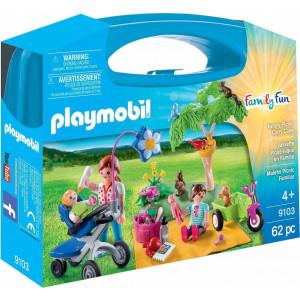 Playmobil Maxi Βαλιτσάκι Πικ Νικ Στην Εξοχή 9103 #787.342.162, narlis.gr