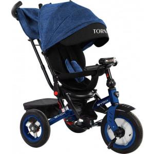Moni Byox Τρίκυκλο Ποδηλατάκι Tornado Dark Blue 3800146230166, narlis.gr