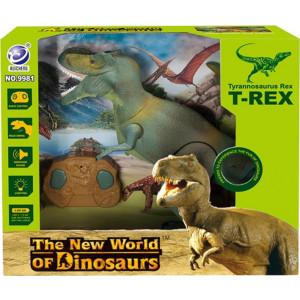 Dinosaur World Τυραννόσαυρος Τηλεκατευθυνόμενος Με Φως & Ήχο (299981RC)