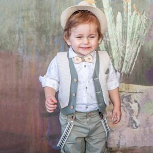 Ολοκληρωμένο σετ βάπτισης αγόρι Carousel 284.169Β.306  narlis.gr