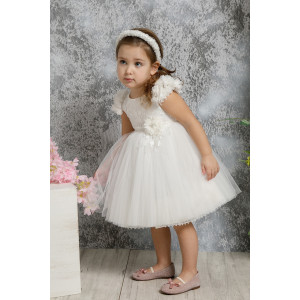 Ολοκληρωμένο σετ βάπτισης φόρεμα Mi Chiamo Κ4313Φ narlis.gr