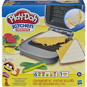 Play-Doh Cheesy Sandwich Playset (E7623)