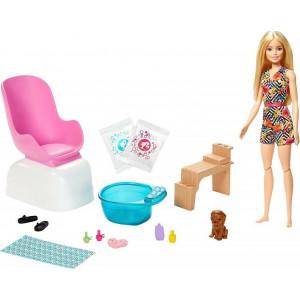 Barbie Ινστιτούτο Μανικιούρ Με Κούκλα (GHN07)