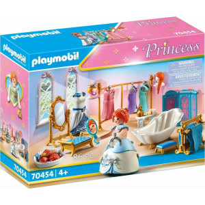 Playmobil Πριγκιπικό Λουτρό Με Βεστιάριο (70454)
