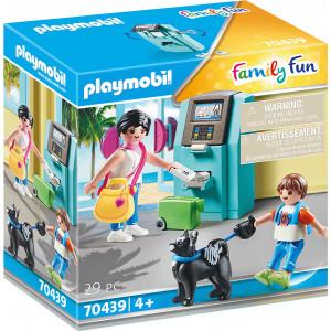 Playmobil Τουρίστες Στο ATM (70439)