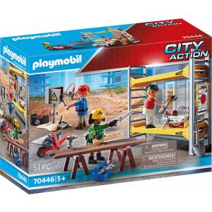 Playmobil Εργάτες Με Σκαλωσιά (70446)