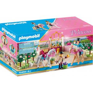 Playmobil Μαθήματα Ιππασίας Στον Βασιλικό Στάβλο (70450)