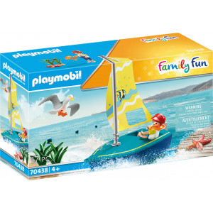 Playmobil Βαρκάκι Ιστιοπλοΐας (70438)