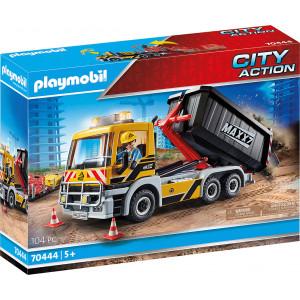 Playmobil Φορτηγό Με Ανατρεπόμενη Καρότσα (70444)