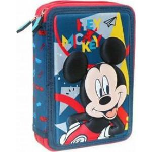 Κασετίνα Διπλή Γεμάτη Mickey (562198)