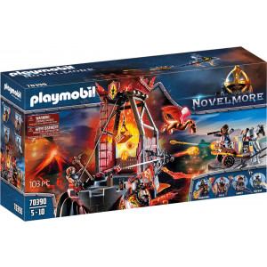 Playmobil Ορυχείο Λάβας Του Μπέρναμ (70390)