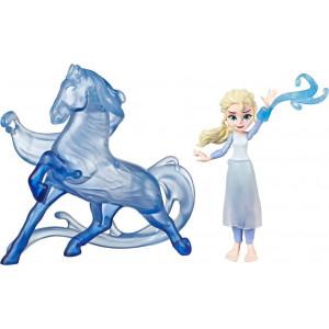 Frozen II Elsa Μικρή Κούκλα & Η Φιγούρα Του Nokk (E6857)