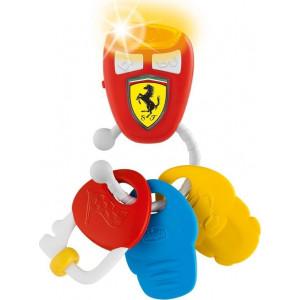 Chicco Κουδουνίστρα Κλειδιά Με Ήχο Ferrari (09564-00)
