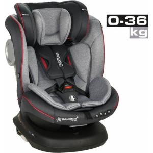 Κάθισμα Αυτοκινήτου Bebe Stars Levante Plus 360° Isofix Red 0-36 kg (912-185)