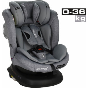 Κάθισμα Αυτοκινήτου Bebe Stars Levante Plus 360° Isofix Grey 0-36 kg (912-186)
