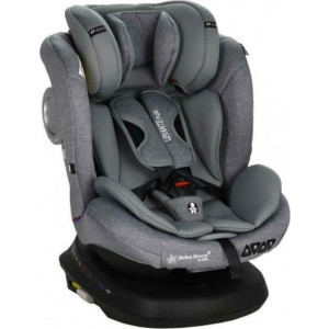 Bebe Stars Κάθισμα Αυτοκινήτου 0-36 Levante Plus Isofix 360° Grey 912-186