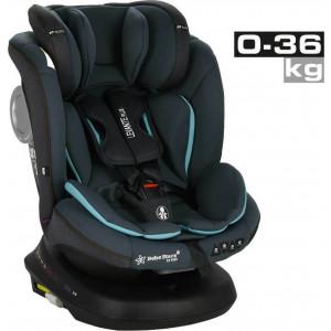 Κάθισμα Αυτοκινήτου Bebe Stars Levante Plus 360° Isofix Petrol 0-36 kg (912-184)