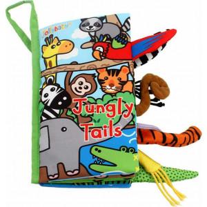 Jollybaby Μαλακό Βιβλίο Με Ουρές Jungle (J8232)