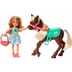 Barbie Chelsea & Πόνυ (GHV78)