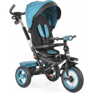 Moni Byox Τρίκυκλο Ποδηλατάκι Air Jockey Turquoise 3800146230777