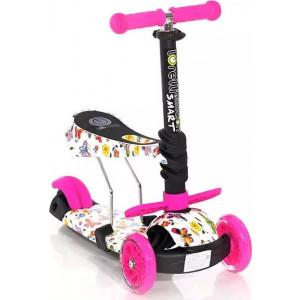 Πατίνι Lorelli Smart Pink Butterfly (10390020011)