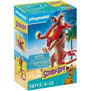 """Playmobil Συλλεκτική Φιγούρα Scooby """"Ναυαγοσώστης"""" (70713)"""