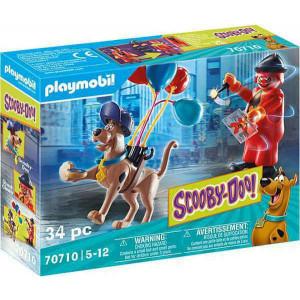 Playmobil Περιπέτεια Mε Tον Ghost Clown (70710)