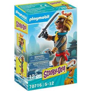 """Playmobil Συλλεκτική Φιγούρα Scooby """"Σαμουράι"""" (70716)"""