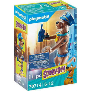 """Playmobil Συλλεκτική Φιγούρα Scooby """"Αστυνομικός"""" (70714)"""