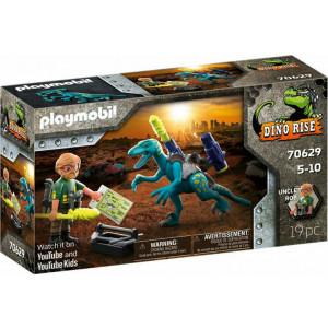 Playmobil Δεινόνυχος Με Τον Θείο Rob (70629)