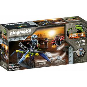 Playmobil Πτεροδάκτυλος & Μαχητές Με Drone (70628)