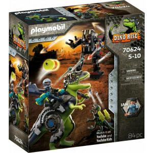Playmobil T-Rex: Η Μάχη Των Γιγάντων (70624)