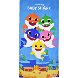 Πετσέτα Θαλάσσης Baby Shark (BS09001)