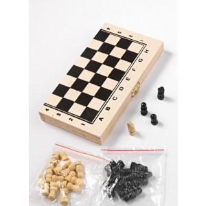 Μπομπονιέρες Βάπτισης Σκάκι Ξύλινο Μπομπονιέρα με Πιόνια 208-8696 Boutlas